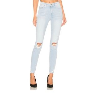 FRAME   Le High Rise Skinny in Rush Size 31